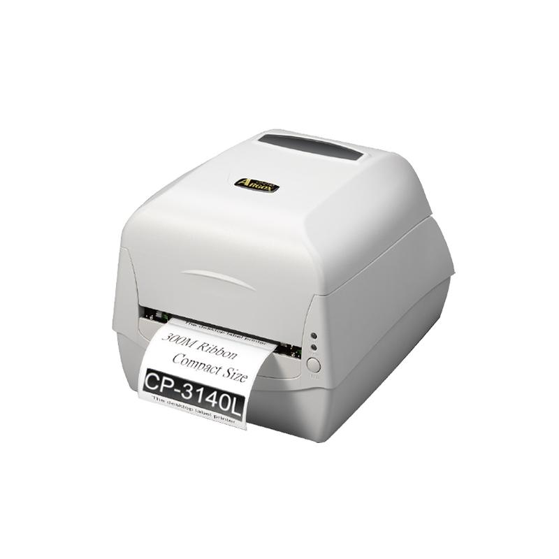 立象CP-3140L条码打印机300dpi点珠宝服装吊牌不干胶水洗标标签机