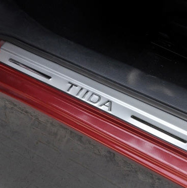 11-16 new Tiida door welcome pedal 18 new Tiida door guard pedal door threshold bar