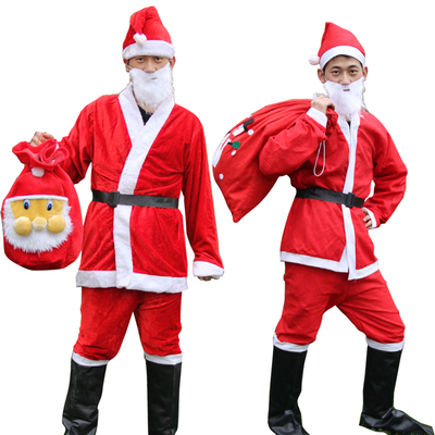 Christmas Costumes Santa Cloths for Boys 082989