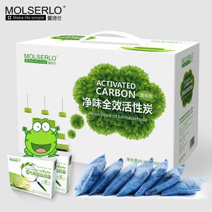 蔓诗兰活性炭除甲醛活性炭包新房竹炭包碳包装修急入住家用吸去味