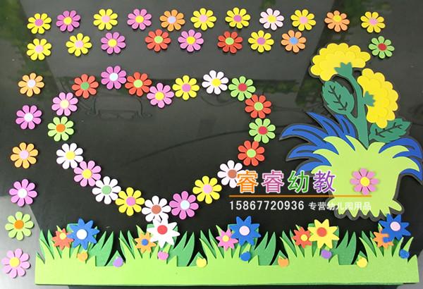 幼儿园墙贴小学班级文化墙黑板报装饰教室布置材料主题创意墙贴画图片