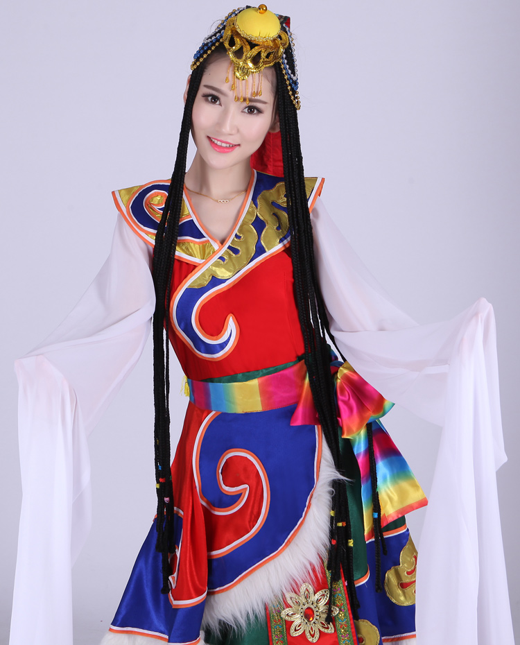 The costume for the Tibetan dance Good tailor z/978