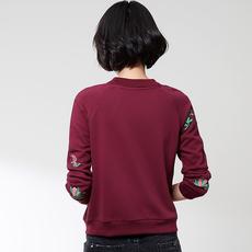 Короткая куртка 【清仓特价】中年人休闲大码短外套春秋妈妈装夹克棒球服薄卫衣女