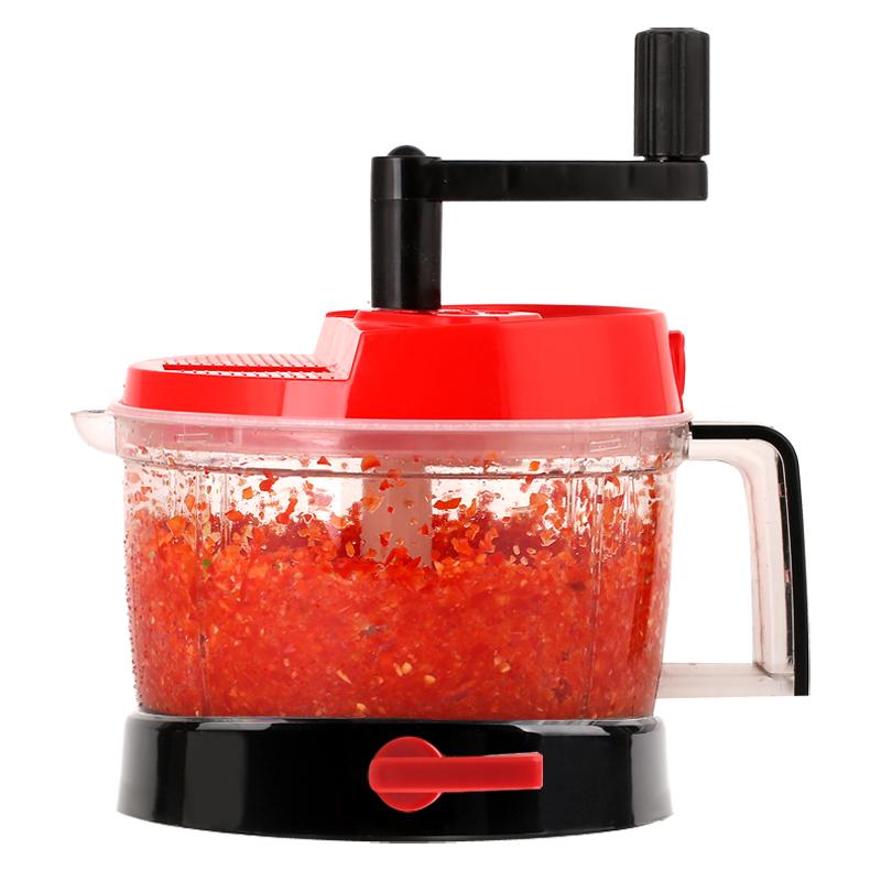 绞菜机手动多功能切菜器家用搅菜机碎菜器小型绞肉机手摇切菜神器[优惠券5元淘宝包邮]