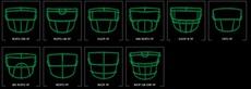 шлем для регби Schutt XP Hybrid