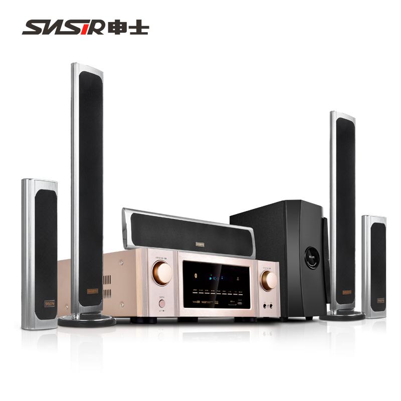 SNSIR-申士 y208家庭影院5.1音响套装客厅无线环绕音箱家用K歌