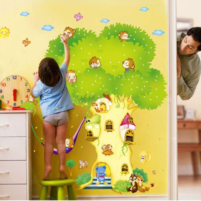 Наклейка на стену Fu Kee Wall Stickers