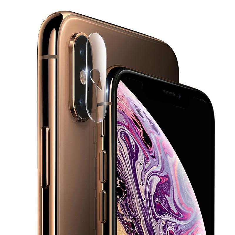 babooss iphoneX镜头膜钢化膜苹果8plus手机后膜7p摄像头保护圈plus