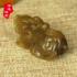 天然和田玉糖料貔貅吊坠挂件玉坠 糖玉招财玉石小把件玉器小摆件