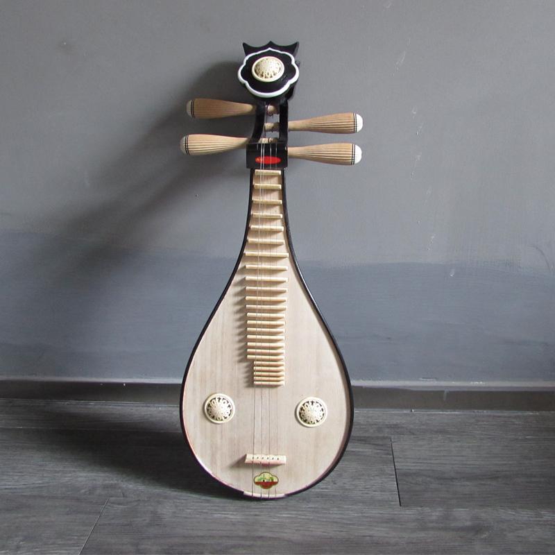 Люцинь Волны инструмент башни хуцю в Сучжоу 4411 柳琴 柳琴 柳琴 инструменты обучения в раннем возрасте цвет древесины 柳琴 обновления, играть на фортепиано подлинной