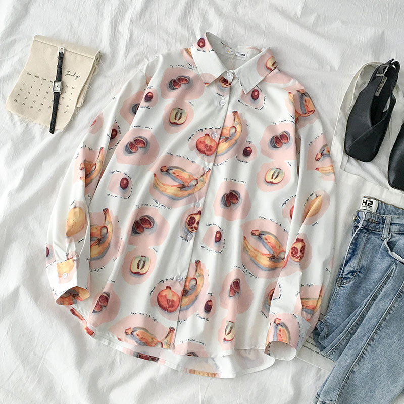 Ins Port-flavored shirt jacket early autumn 2019 new women's korean style yang-style small-style design sense loose top