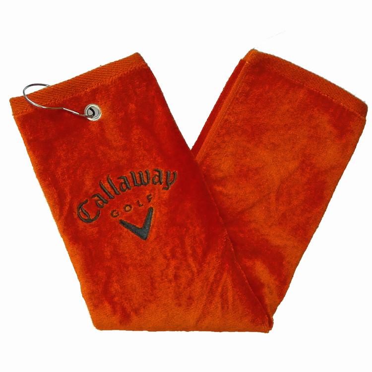 Полотенце туристическое компания callaway callaway Гольф полотенце стержень хлопка крючком мягкие абсорбент спорт полотенце