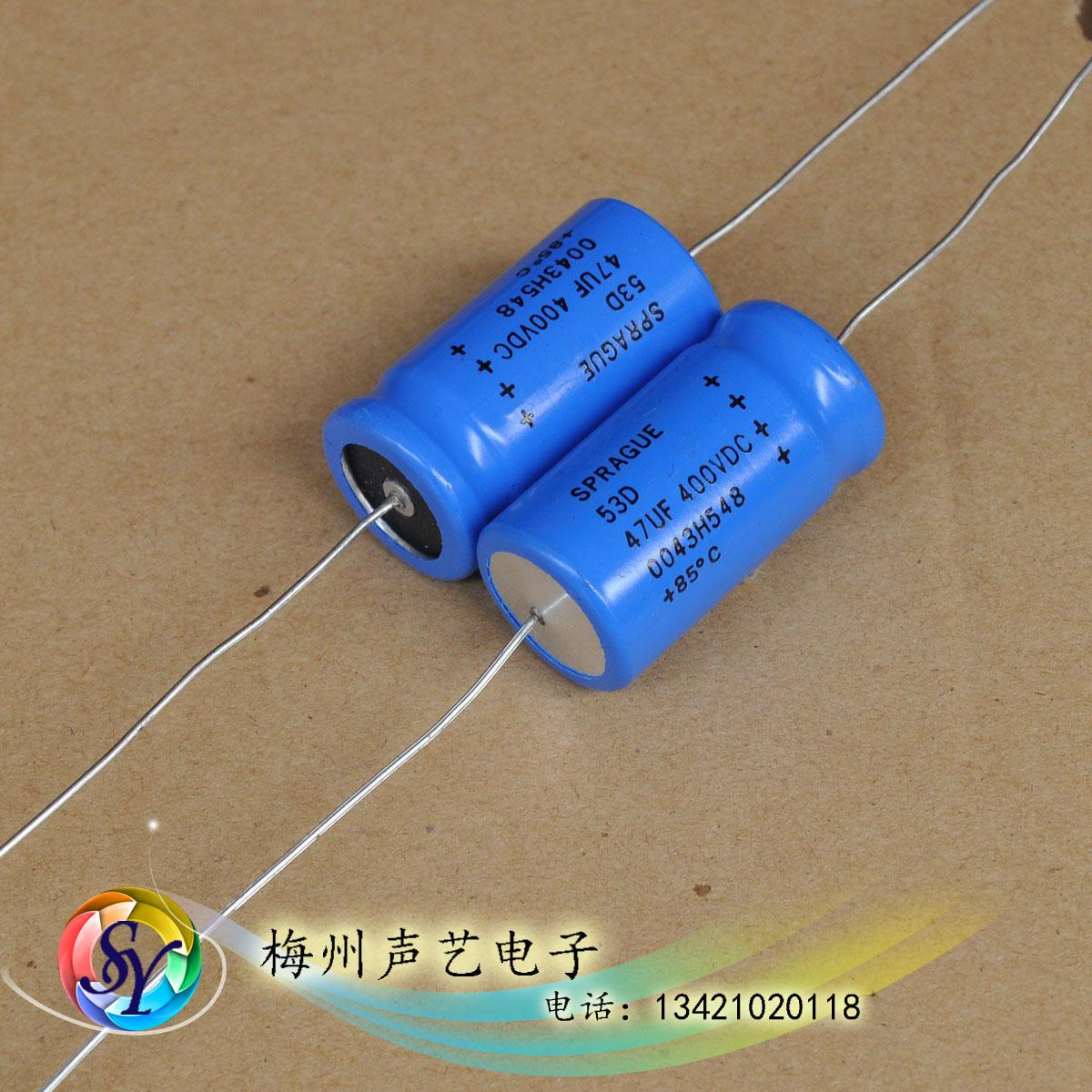 конденсатор Sprague  400V 47UF 53D