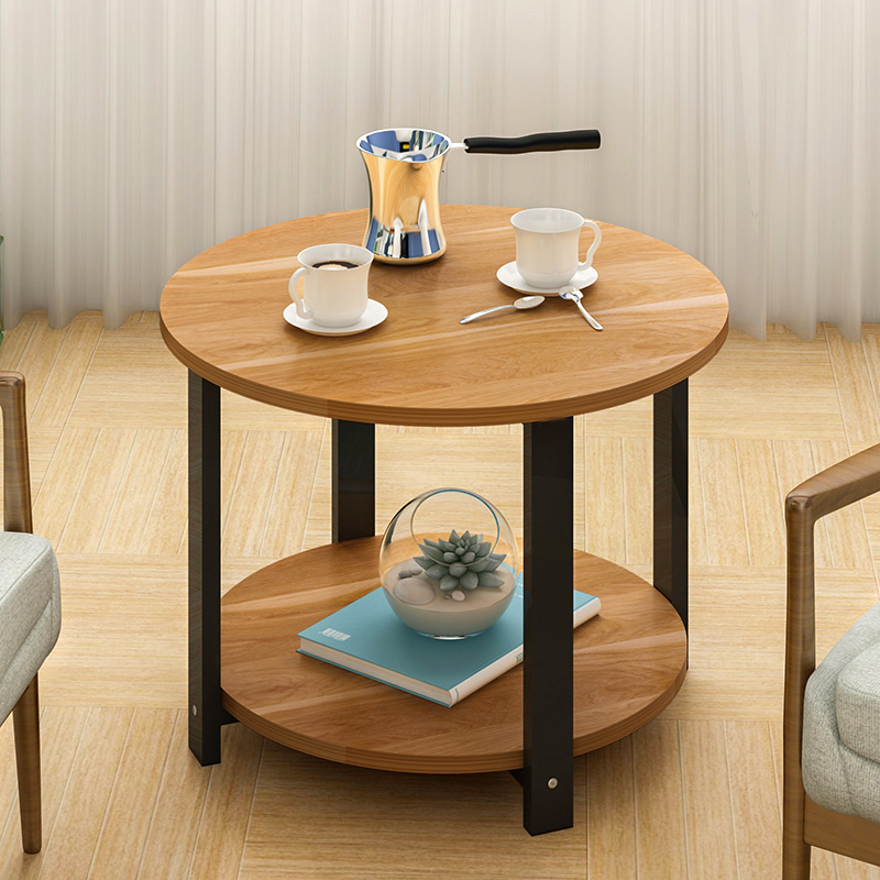 simple modern small round table coffee table assembly simple