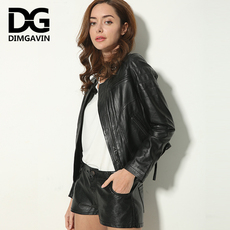 Leather jacket Blue low key 711zlp4022