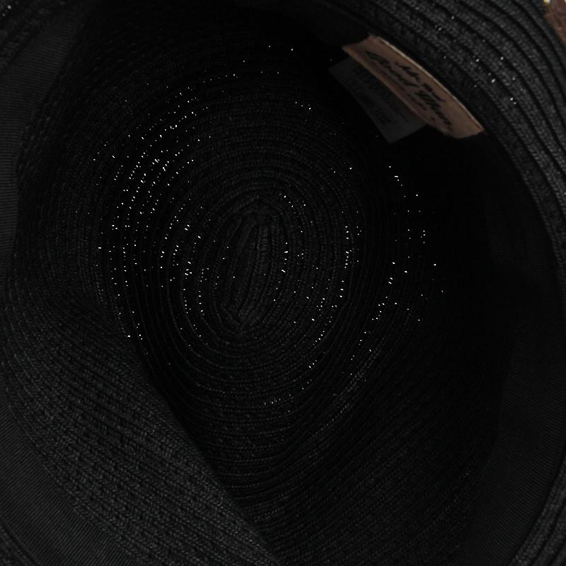 HATSON男帽女帽潮流印花渔夫帽遮阳旅行休闲帽礼帽MGMFEI2024BK