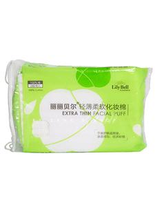 日本丽丽贝尔lilybell化妆棉卸妆棉湿敷专用卸妆用脸部纯棉薄款