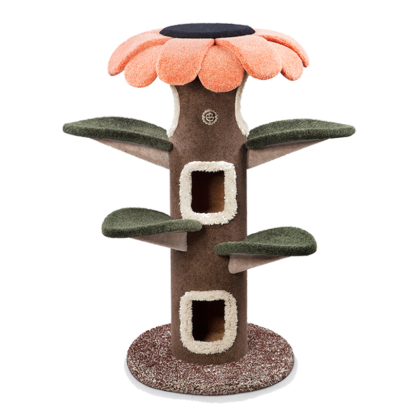 White pig shop cat\'s tree Camily cat climbing frame cat paradise sun ...