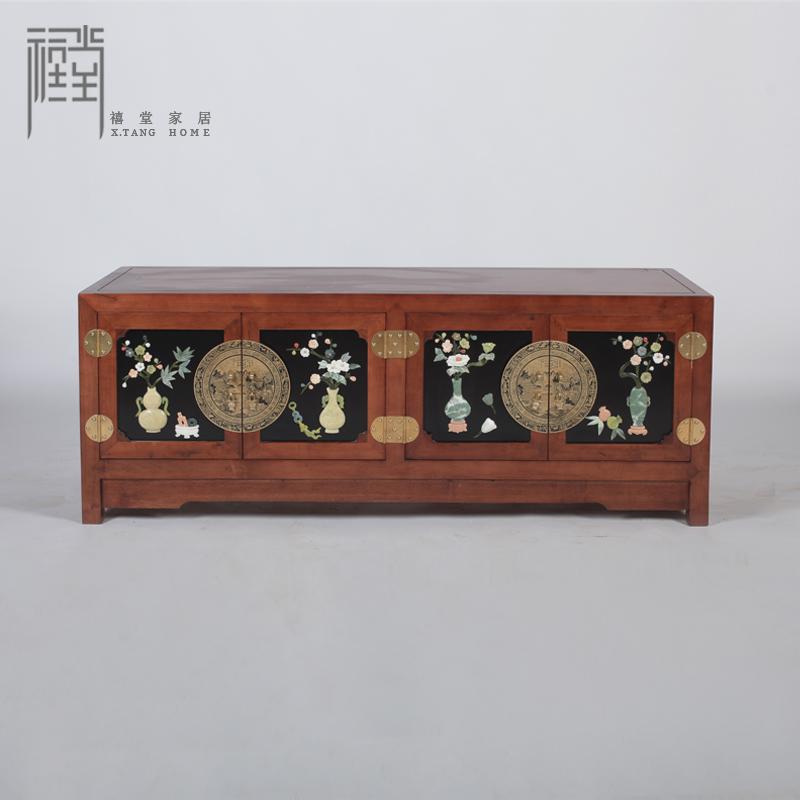 禧堂新中式古典实木嵌四门XTQYQQG3