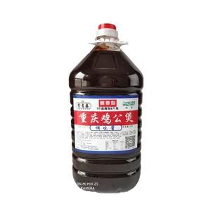 正宗重庆鸡公煲酱料调料 开店大桶13斤排骨煲牛腩煲 饭店专用干锅