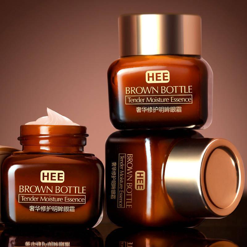 HEE奢华修护明眸眼霜温和修护水润柔滑淡化眼圈烟酰胺小棕瓶眼霜
