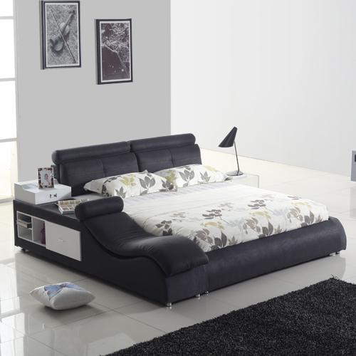 装典布艺床榻榻米床b16