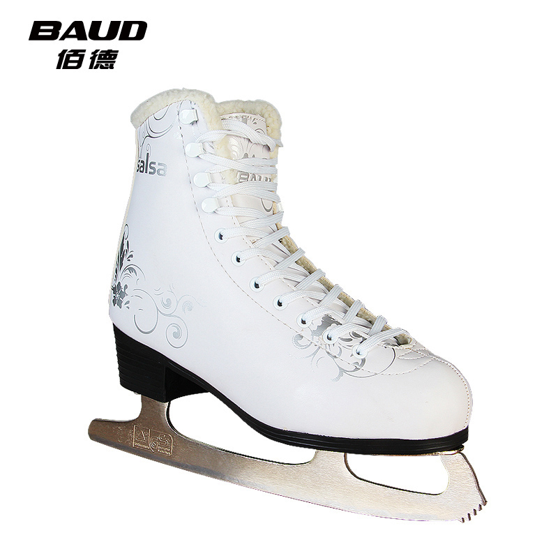 baud Baide salsa salsa figure skate shoes adult men and women really skates children's figure shoes skates