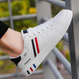 小白鞋潮流板鞋男鞋春秋2020新款秋季白鞋潮鞋休闲鞋男士运动鞋子