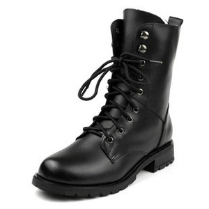 Leather Strap boots