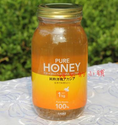 蜜蜂堂 出口日本天然蜂蜜 槐花蜜 自然成熟蜂蜜 1KG妈妈装 包邮