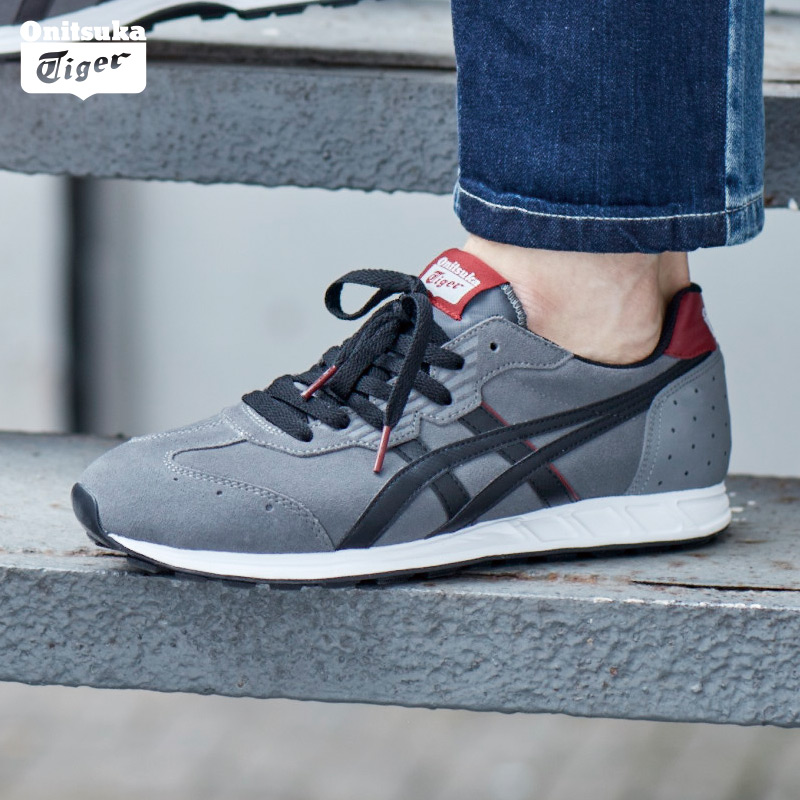 Onitsuka Tiger-鬼塚虎 男女运动板鞋 T-STORMER D430L