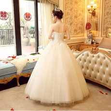 Wedding dress Chime of the edge