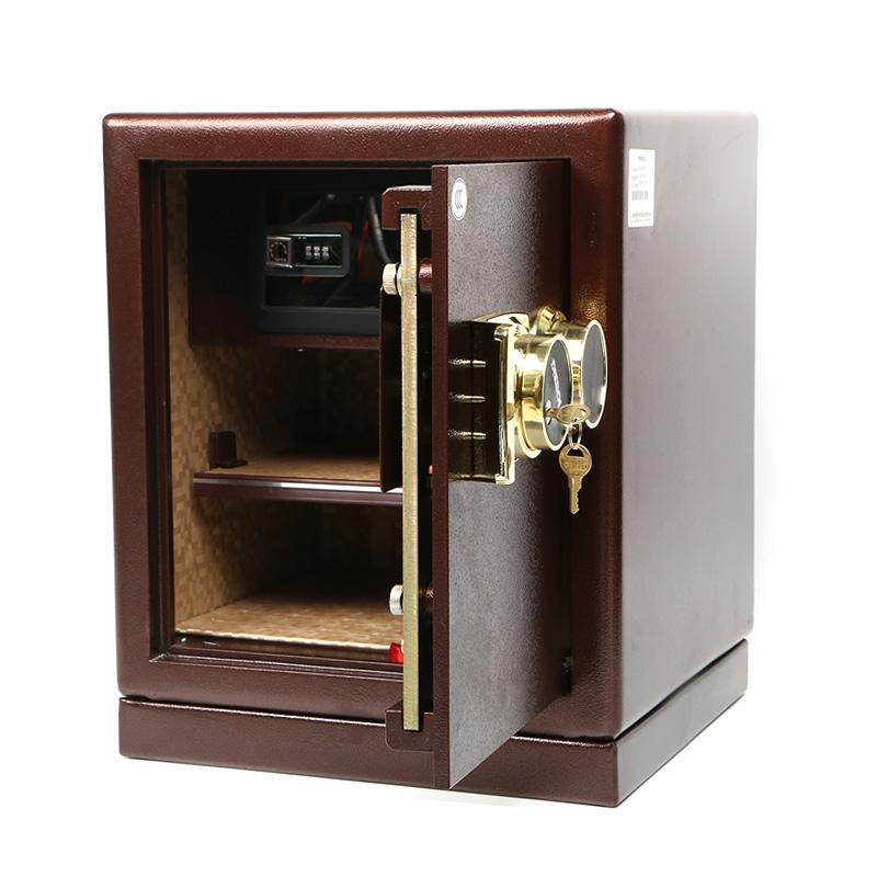 迪堡保险柜家用小型45UL机械锁密码防盗全钢保险箱办公入墙3C认证