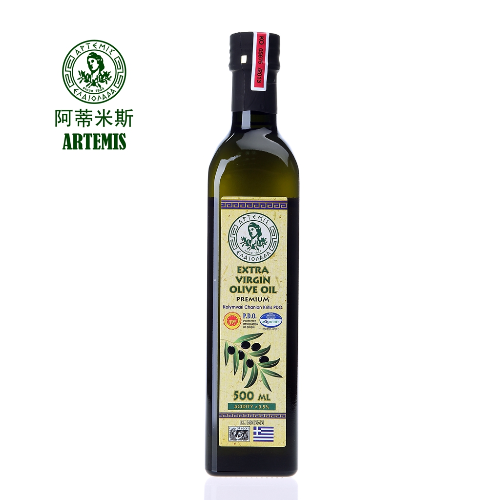 ARTEMIS 阿蒂米斯 P.D.O系列 希腊原装进口特级初榨橄榄油 500ML