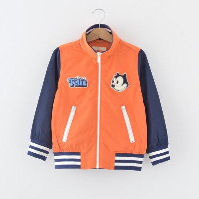 105-140 children's clothing brand discount spring loaded boy windbreaker jacket baby jacket 53802F