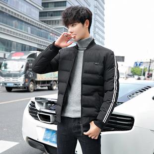 新款冬季外套男棉衣韩版修身保暖厚款冬装青年男士秋冬棒球领棉服