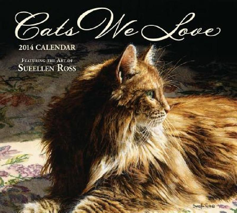 Cats We Love 2014 Deluxe Wall Calendar