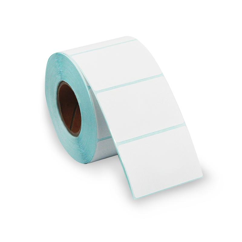单防热敏标签纸60*40不干胶打印机物流快递面单条码贴纸宽50到70