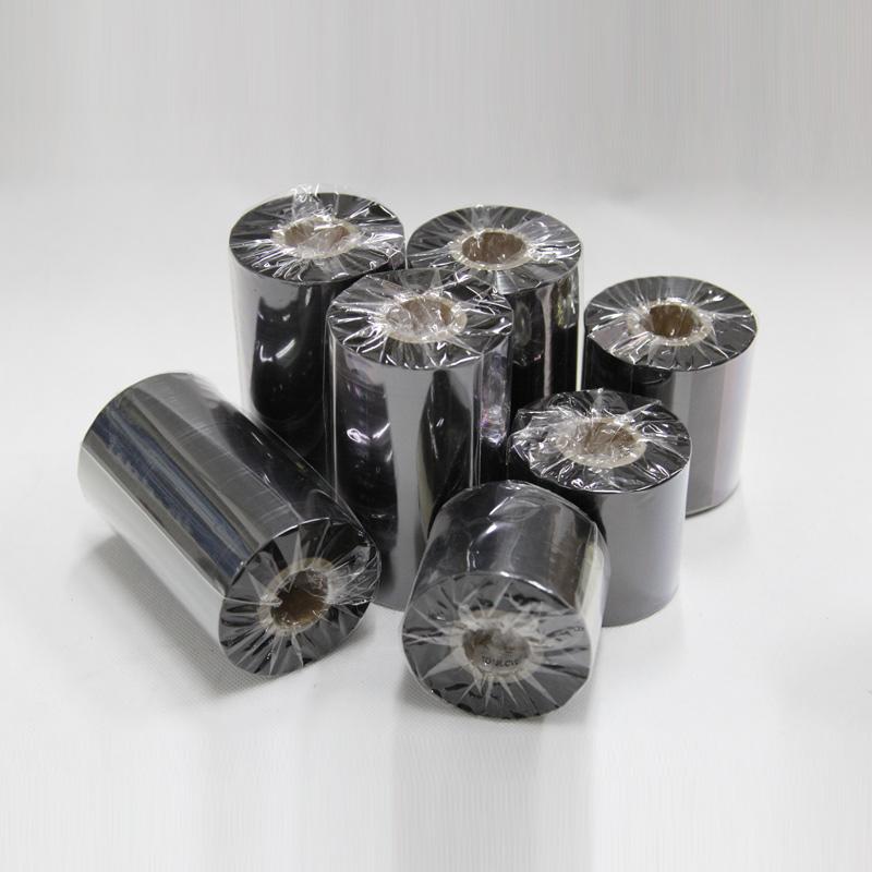 昕维全树脂碳带40 50 60 70 80 90 100 110mm 300m条码打印机色带适PET哑银纸PVC合成纸防水防刮保存时间长