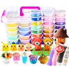 36 color ultra-light clay crystal color 24-color non-toxic plasticine set space snow cream clay sand toys