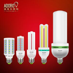 澳得乐LED灯泡 E27大螺口超亮LED玉米灯泡 螺旋白光家用节能省电