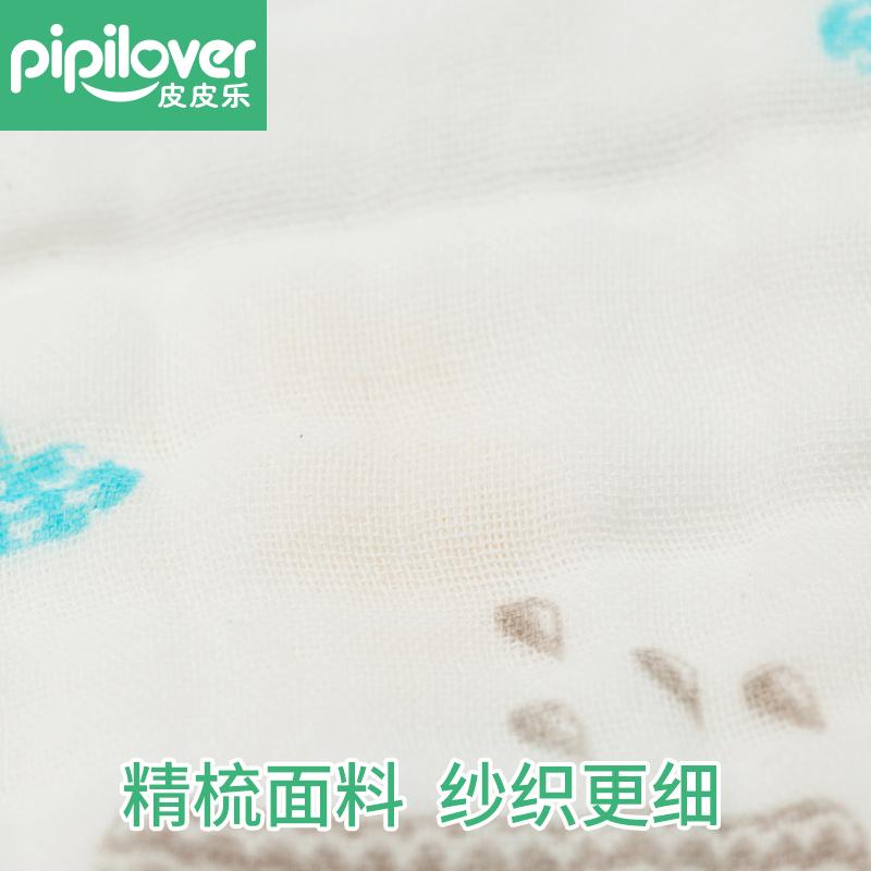 宝宝口水巾新生婴幼儿围嘴纯棉纱布儿童三角巾按扣1-2岁春秋围巾产品展示图2