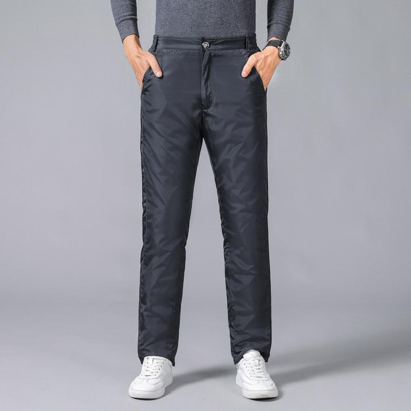 2020新款羽绒裤男士保暖棉裤加厚宽松大码户外防风冬装长裤外穿潮