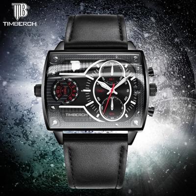 网红抖音同款星空方形手表男士学生石英表非机械表电子男表特种兵