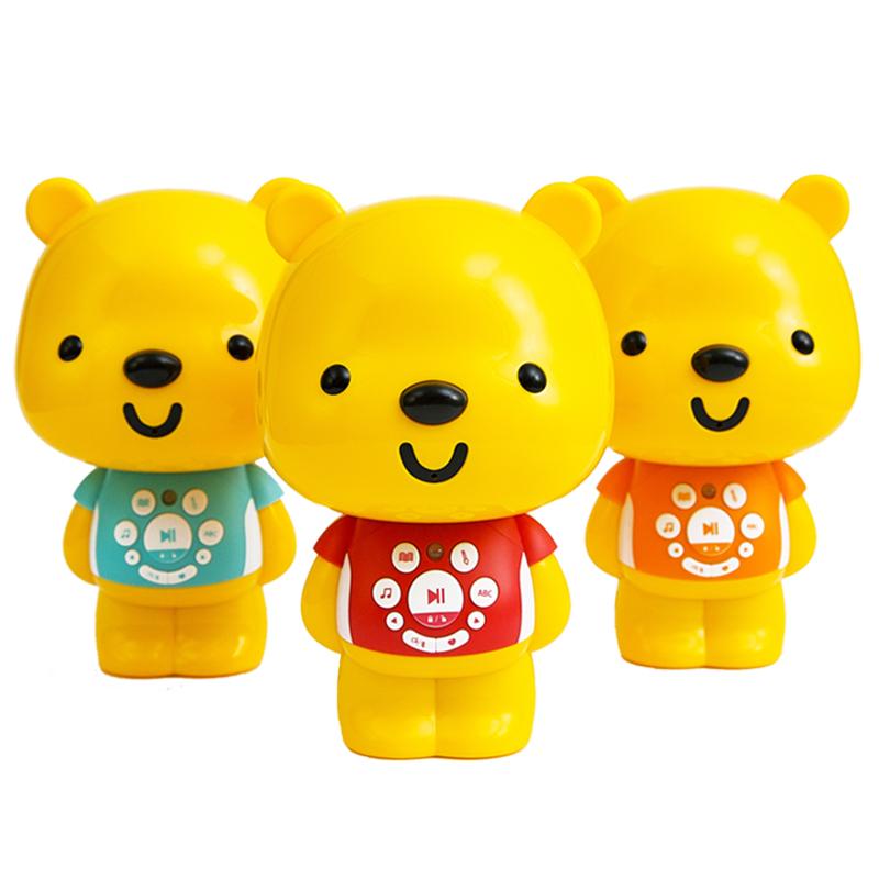 优彼亲子熊四代早教机优比宝宝蓝牙故事机儿童智能玩具0-3岁6周岁