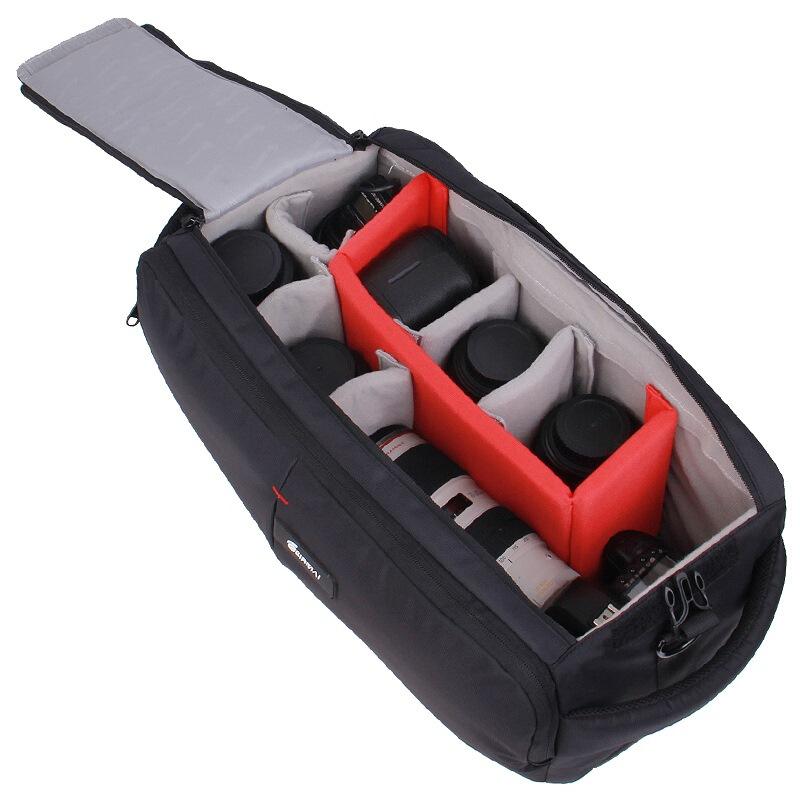 锐玛专业摄像机包拉杆双肩摄影包大容量单反相机包多功能摄像背包 佳能尼康索尼数码背包便携休闲登机箱器材