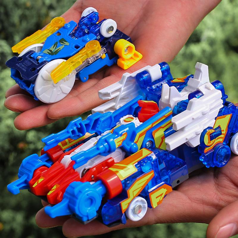 爆裂飞车3代御星神儿童玩具变形套装正版奥迪双钻暴力飞车3炼狱