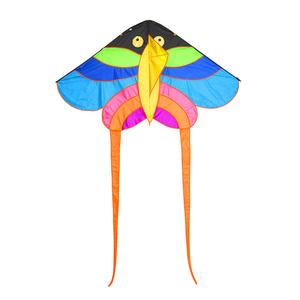 丽达 潍坊风筝微风易飞初学者儿童卡通蝴蝶风筝 成人大型风筝