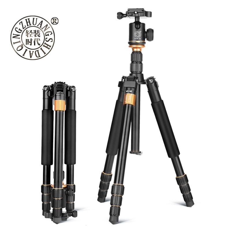 轻装时代Q999S单反相机三角支架云台 摄影微单佳能尼康便携三脚架
