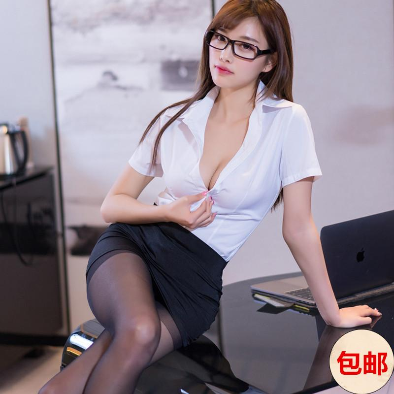 Short skirt secretary